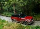 Фото авто Land Rover Range Rover Sport 2 поколение [рестайлинг], ракурс: 315 цвет: красный