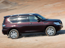 Фото авто Nissan Patrol Y62, ракурс: 270 цвет: пурпурный