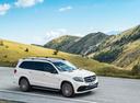 Фото авто Mercedes-Benz GLS-Класс X166, ракурс: 315 цвет: белый
