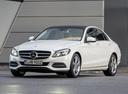 Фото авто Mercedes-Benz C-Класс W205/S205/C205, ракурс: 45 цвет: серебряный