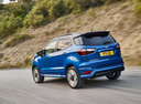 Фото авто Ford EcoSport 2 поколение [рестайлинг], ракурс: 135 цвет: синий