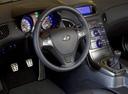 Фото авто Hyundai Genesis 1 поколение, ракурс: рулевое колесо