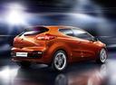Фото авто Kia Cee'd 2 поколение, ракурс: 225 цвет: оранжевый