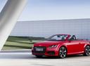 Фото авто Audi TT 8S, ракурс: 45 цвет: красный