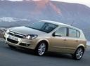 Фото авто Opel Astra H, ракурс: 45 цвет: бежевый