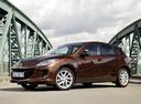 Фото авто Mazda 3 BL [рестайлинг], ракурс: 90 цвет: коричневый