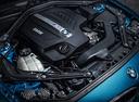 Фото авто BMW M2 F87, ракурс: двигатель цвет: голубой