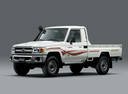 Фото авто Toyota Land Cruiser J70 [3-й рестайлинг], ракурс: 45