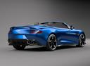 Фото авто Aston Martin Vanquish 2 поколение, ракурс: 225 цвет: синий