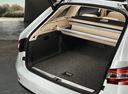 Фото авто Skoda Superb 3 поколение, ракурс: багажник цвет: белый