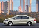 Фото авто Volkswagen Polo 5 поколение, ракурс: 90 цвет: серебряный