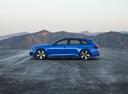 Фото авто Audi RS 4 B9, ракурс: 90 цвет: голубой