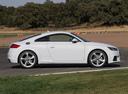 Фото авто Audi TT 8S, ракурс: 270 цвет: белый