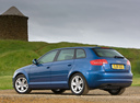 Фото авто Audi A3 8P/8PA [2-й рестайлинг], ракурс: 135 цвет: синий