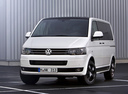 Фото авто Volkswagen Multivan T5 [рестайлинг],  цвет: белый