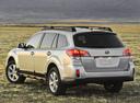Фото авто Subaru Outback 4 поколение [рестайлинг], ракурс: 135 цвет: серебряный