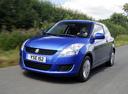Фото авто Suzuki Swift 4 поколение, ракурс: 45 цвет: синий