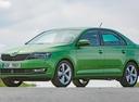 Фото авто Skoda Rapid 3 поколение [рестайлинг], ракурс: 45 цвет: зеленый