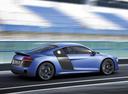 Фото авто Audi R8 1 поколение [рестайлинг], ракурс: 225 цвет: голубой