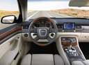Фото авто Audi A8 D3/4E [рестайлинг], ракурс: рулевое колесо