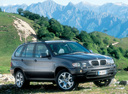Фото авто BMW X5 E53, ракурс: 315 цвет: серый