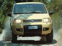 Фото авто Fiat Panda 2 поколение,  цвет: желтый