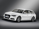 Фото авто Audi A6 4G/C7, ракурс: 45 цвет: белый