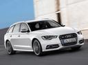 Фото авто Audi S6 C7, ракурс: 315 цвет: белый