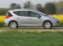 Фото авто Peugeot 207 1 поколение, ракурс: 270