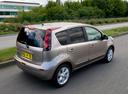 Фото авто Nissan Note E11 [рестайлинг], ракурс: 225 цвет: коричневый