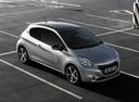 Фото авто Peugeot 208 1 поколение, ракурс: 315 цвет: серебряный