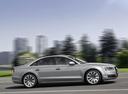 Фото авто Audi A8 D4/4H [рестайлинг], ракурс: 270 цвет: серебряный