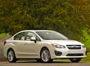 Фото авто Subaru Impreza 4 поколение, ракурс: 315 цвет: белый