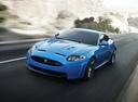 Фото авто Jaguar XK X150 [2-й рестайлинг], ракурс: 45 цвет: синий