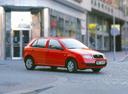 Фото авто Skoda Fabia 6Y, ракурс: 315 цвет: красный