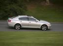 Фото авто Lexus GS 3 поколение [рестайлинг], ракурс: 270 цвет: серебряный