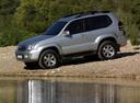 Фото авто Toyota Land Cruiser Prado J120, ракурс: 270
