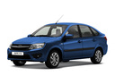 Новый ВАЗ (Lada) Granta, синий металлик, 2017 года выпуска, цена 528 700 руб. в автосалоне Запсиб-Лада