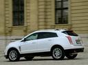 Фото авто Cadillac SRX 2 поколение [рестайлинг], ракурс: 90 цвет: белый