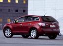 Фото авто Mazda CX-7 1 поколение, ракурс: 135 цвет: красный