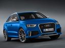 Фото авто Audi RS Q3 8U, ракурс: 315 цвет: голубой