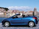 Фото авто Peugeot 206 1 поколение [рестайлинг], ракурс: 90 цвет: синий