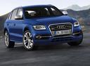 Фото авто Audi SQ5 8R, ракурс: 315 цвет: синий