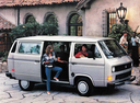 Фото авто Volkswagen Transporter T3 [рестайлинг], ракурс: 270