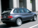 Фото авто BMW X5 E53, ракурс: 225 цвет: серый