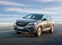 Фото авто Opel Grandland X 1 поколение, ракурс: 45 цвет: мокрый асфальт