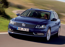 Фото авто Volkswagen Passat B7,  цвет: синий