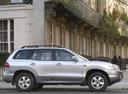 Фото авто Hyundai Santa Fe SM [рестайлинг], ракурс: 270 цвет: серебряный
