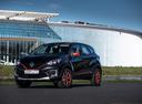 Фото авто Renault Kaptur 1 поколение, ракурс: 45 цвет: черный