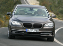 Фото авто BMW 7 серия F01/F02 [рестайлинг],  цвет: коричневый